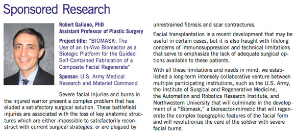Dr. Galiano featured in the FSM Researcher Newsletter